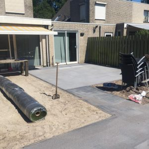 Terras aanleggen Breda