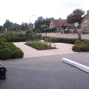 Tuin bestrating in Ulvenhout
